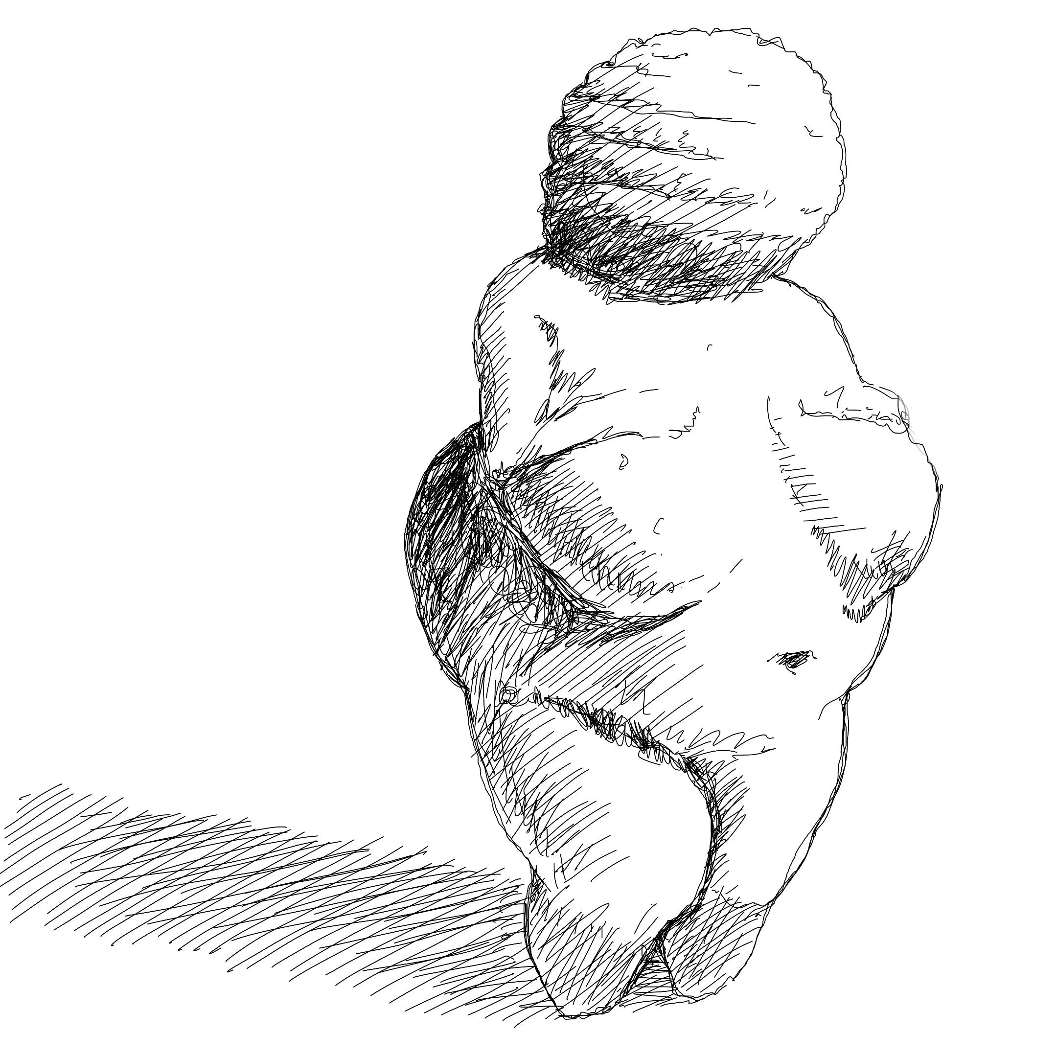 Venere di Willendorf, 24000 - 22000 a.C.