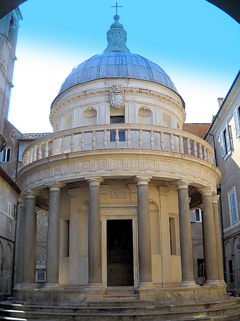Bramante, Tempietto, 1502 San Pietro in Montorio, Roma