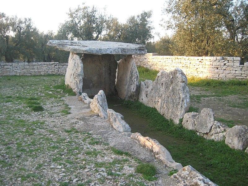 Dolmen della Chianca, 3400 - 600 a.C.