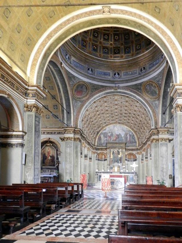 Bramante, Santa Maria presso San Satiro, Coro, 1478
