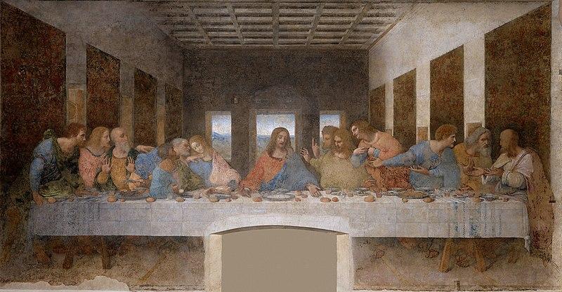 Leonardo da Vinci, Cenacolo, 1498