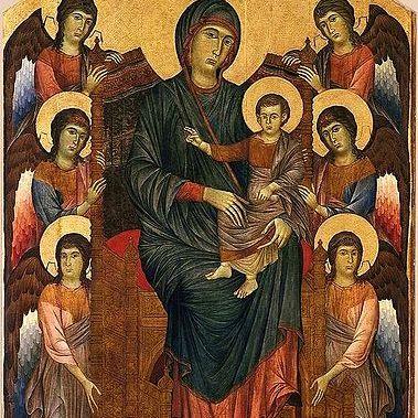 Cimabue, Madonna in Maestà, 1280 c.ca