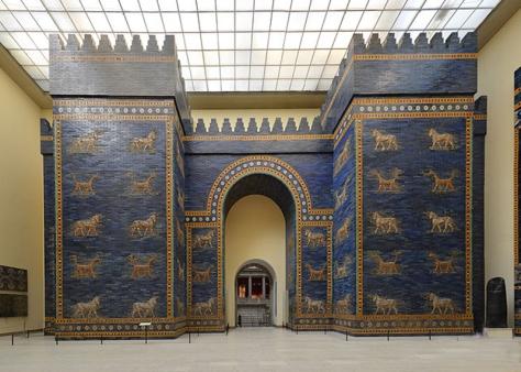 Porta di Išhtar, VI sec. a.C.
