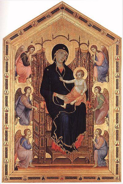 Duccio di Buoninsegna, Madonna Rucellai, 1285