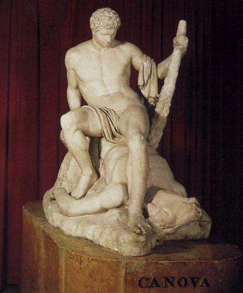 Antonio Canova, Teseo e il Minotauro, 1871-83