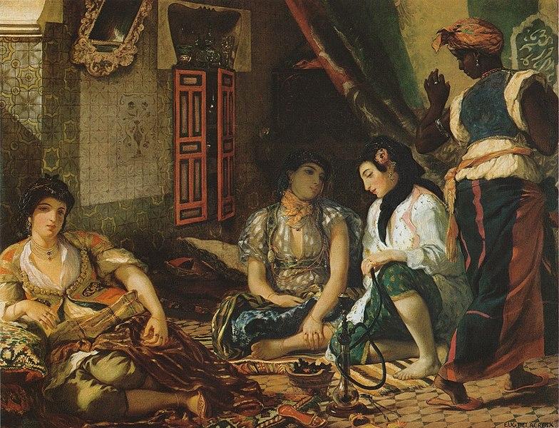 Eugène Delacroix, Donne di Algeri, 1834
