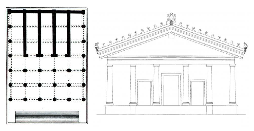 Tempio di Giove Ottimo Massimo, VI sec. A.C