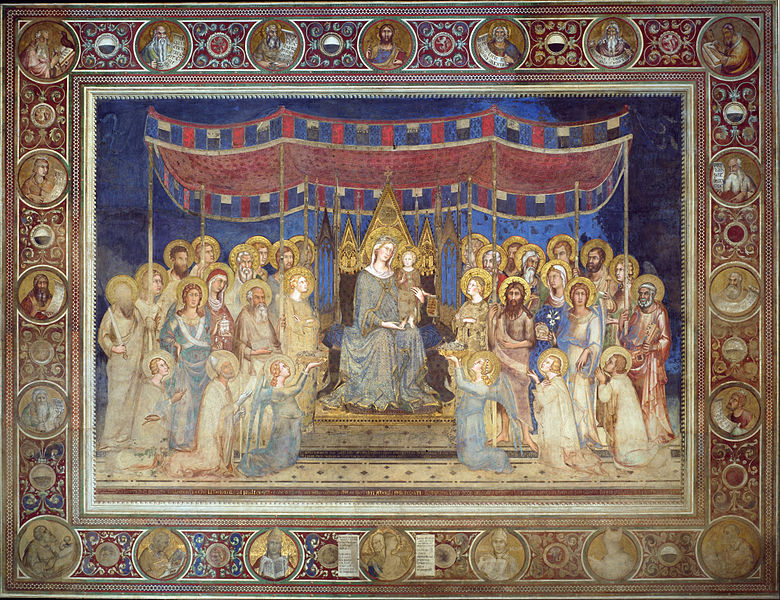 Simone Martini, Madonna in Maestà, 1312-1315