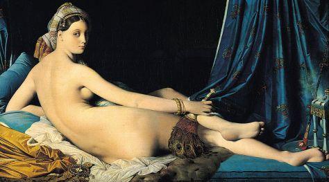 Jean Auguste Dominique Ingres, La Grande Odalisca, 1814