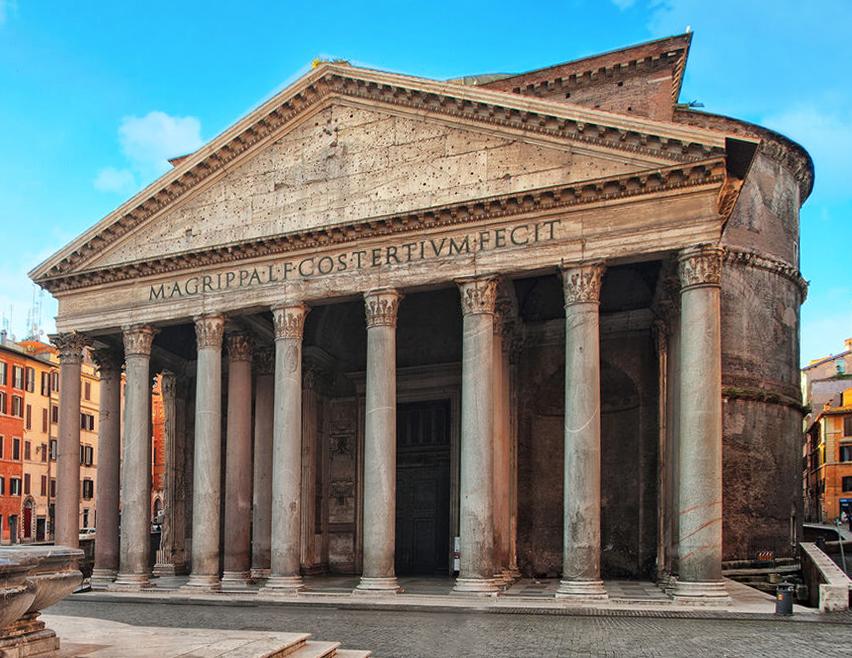 Pantheon, Esterno, 112-124 d.C.