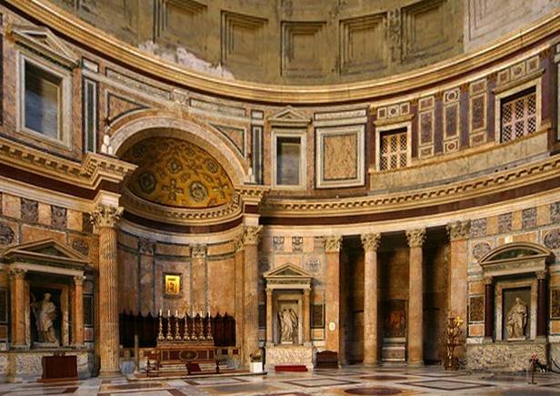 Pantheon, Interno, 112-124 d.C.