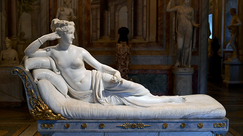 Antonio Canova, Paolina Borghese, 1804