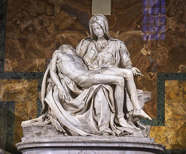 Michelangelo, Pietà Vaticana, 1497-1499