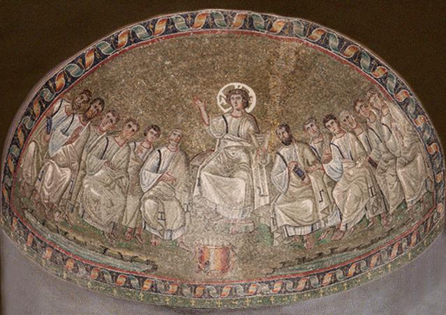 Catino Absidale della Cappella di San Lorenzo, metà IV - V sec.