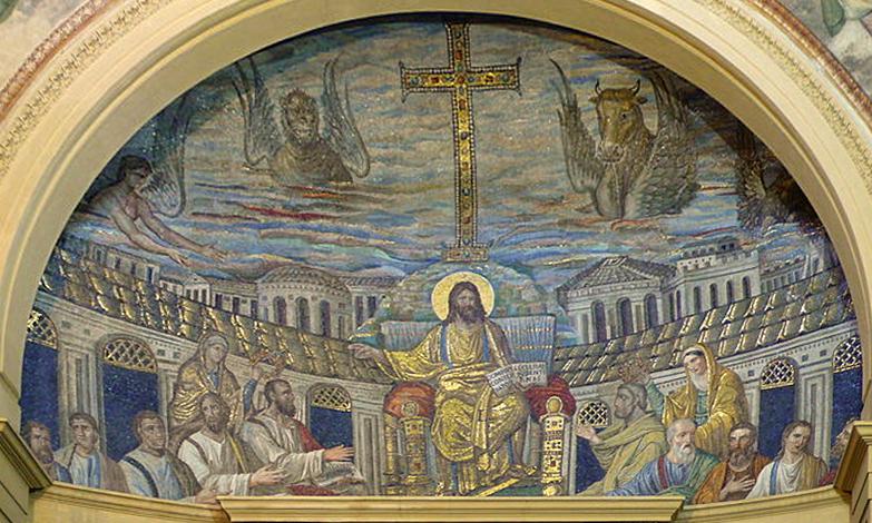 Catino absidale di Santa Pudenziana, 390 d.C.