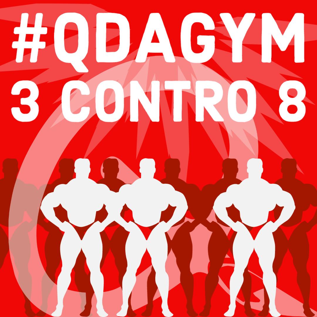 3 contro 8 - QDAGYM
