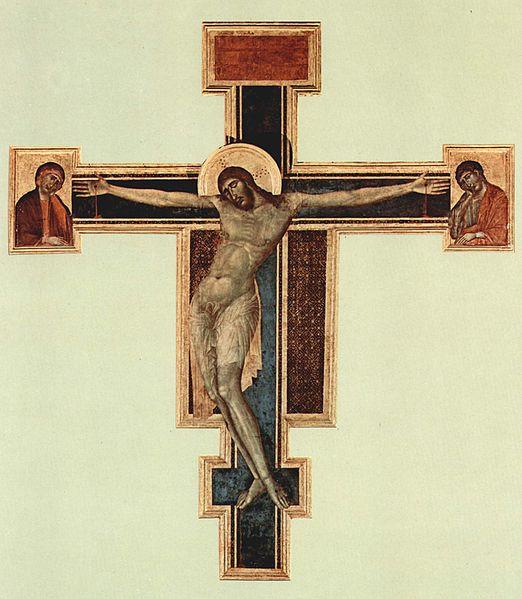 Cimabue, Crocifisso di Arezzo, 1267