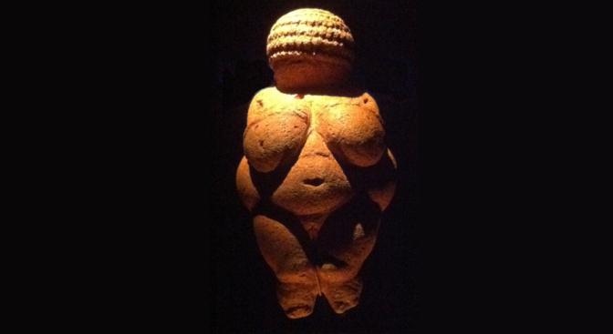 La Venere e il cavernicolo