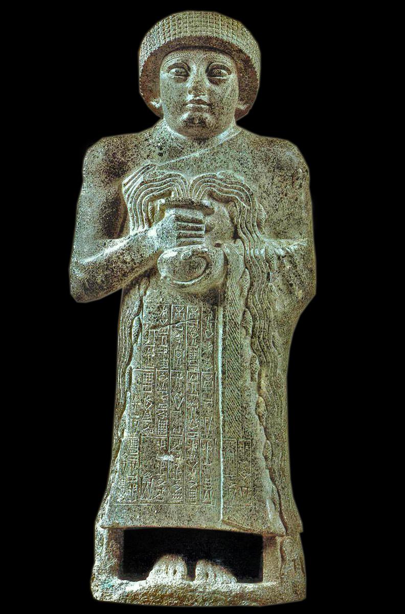 Statuetta di Gudea o del vaso traboccante, 2120 a.C